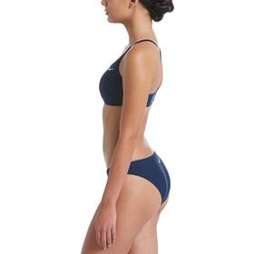 Nike Swim Solid Bikini Set Damen midnight navy